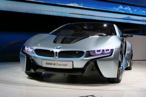 BMW Releases Its New Hybrid Super Vehicle i8