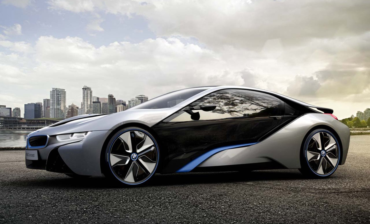 BMW Releases Its New Hybrid Super Vehicle i8