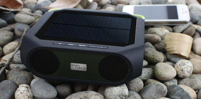 Go Green And Save With Solar Powered Outdoor Speakers
