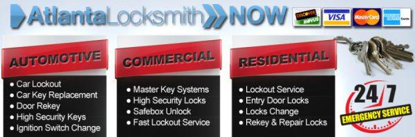 Automotive Locksmith & Keys In Atlanta, GA