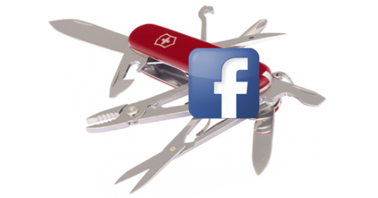 Making Facebook Your Swiss Army Social Media Marketing Tool