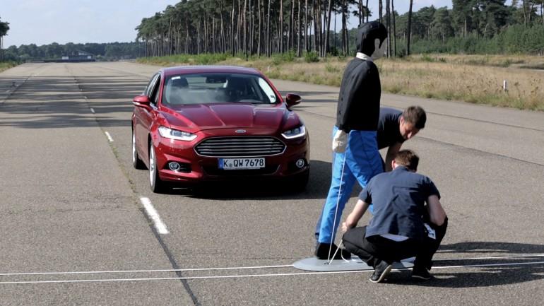 Ford Makes Road Safer For Pedestrians