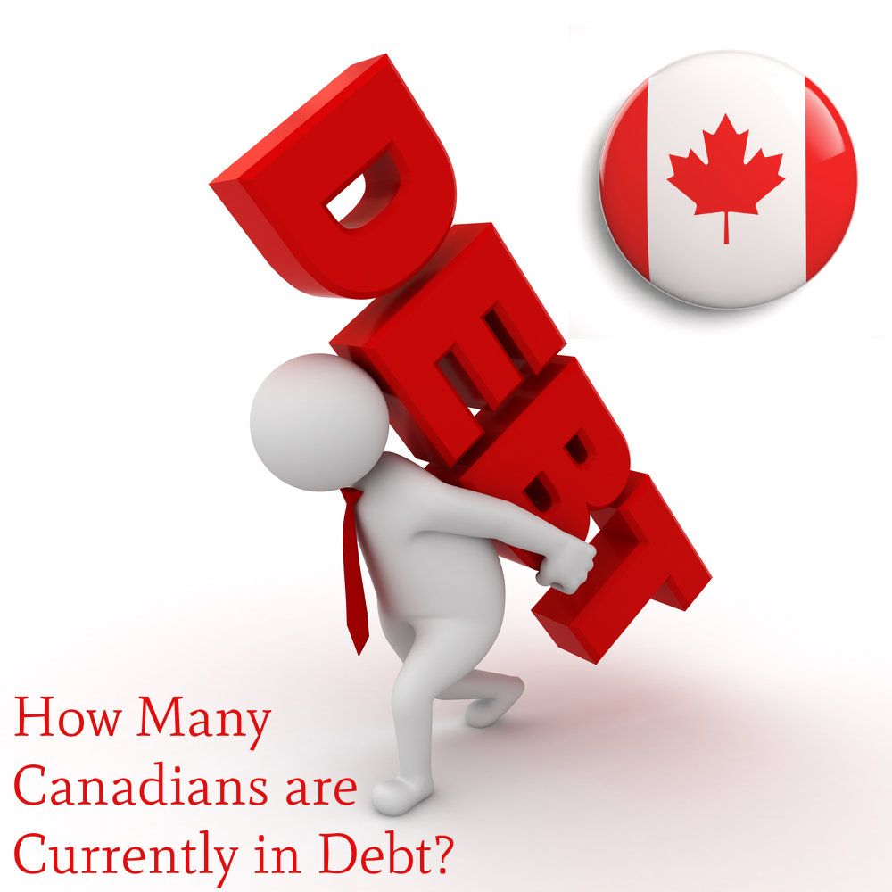 How Many Canadians Are Currently In Debt?