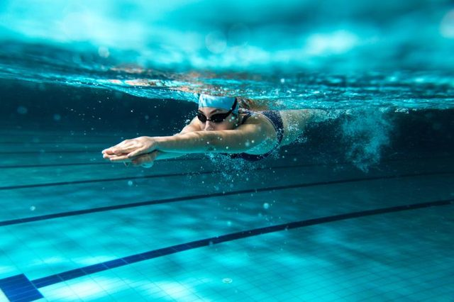 Nutritional Balance for Professional Swimmers