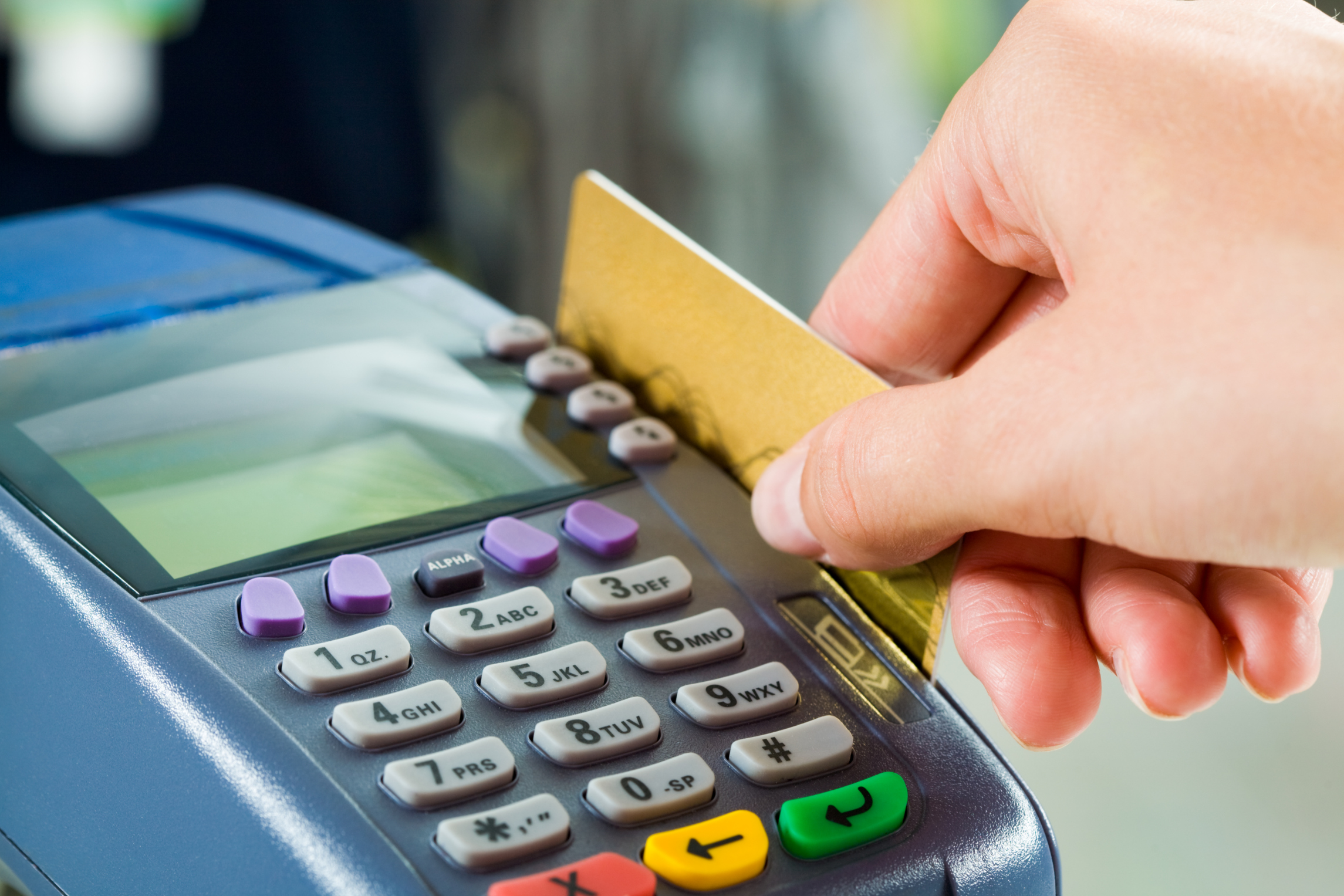 How To Use A Credit Card Machine To Schedule A Card