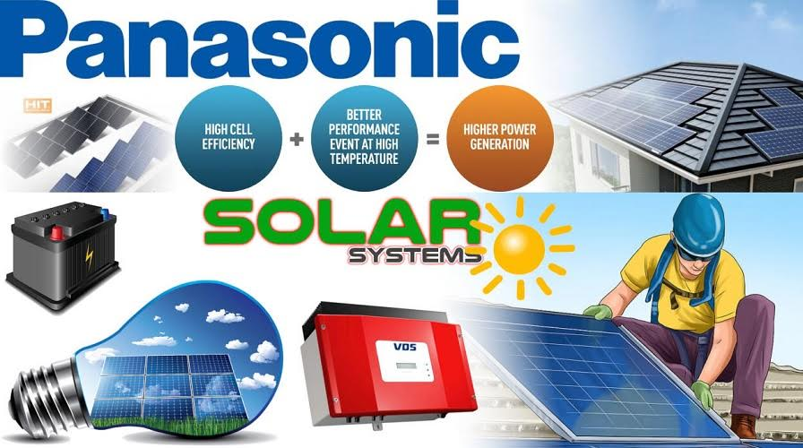 Panasonic Solar Panels For Home Set up - Components Required and Its Procedure