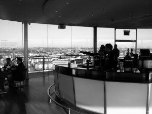 The Gravity Bar in Guinness Storehouse