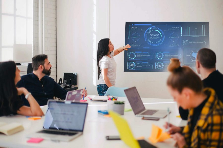 Discover The Top 5 Benefits Of Using Conference Room Digital Signage